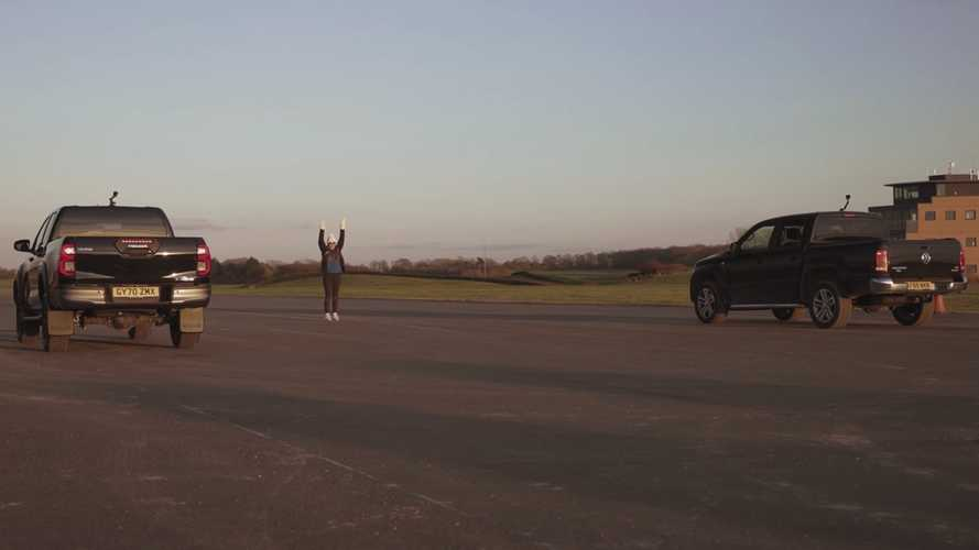 Toyota Hilux Duels VW Amarok In Unexpected Truck Drag Race