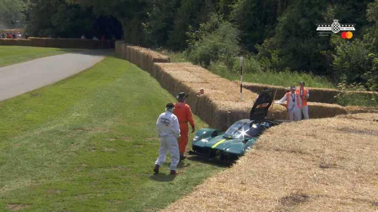 Lerobbant az Aston Martin Valkyrie