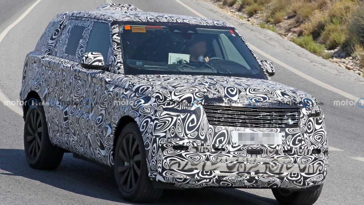 Шпионские фото нового Range Rover