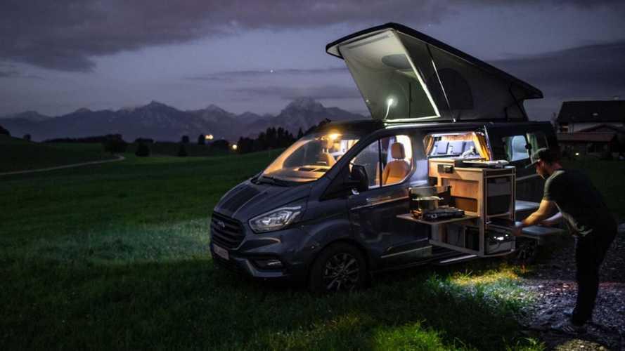 Оцените Ford Transit с 4 спальными местами