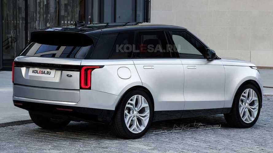 2022 Land Rover Range Rover renderings