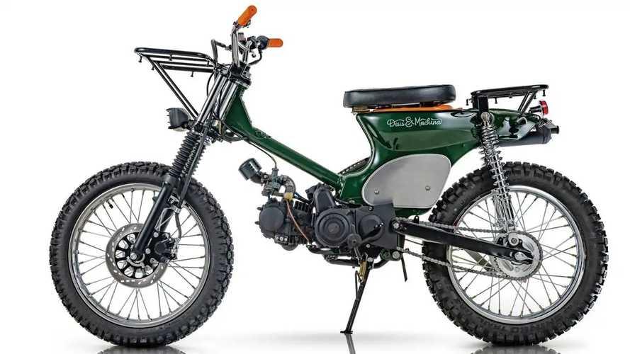 San & Bada: Honda CT100