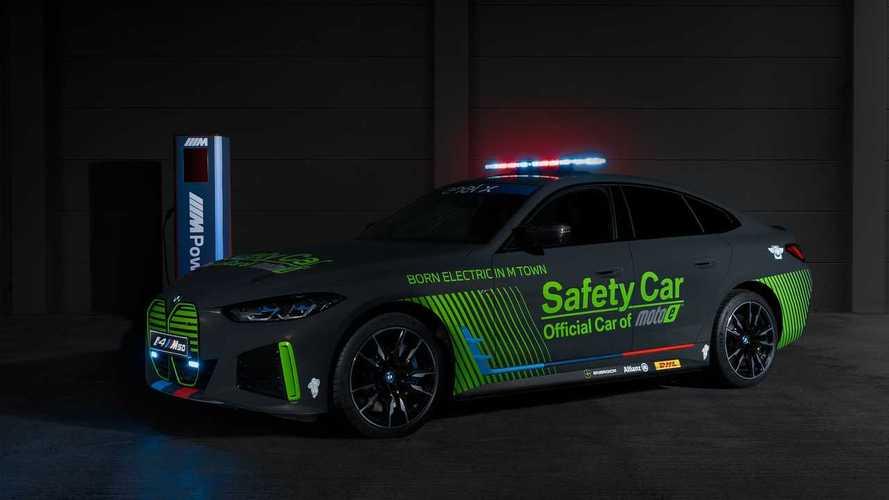 BMW i4 M50 Safety Car per la Coppa del Mondo FIM Enel MotoE