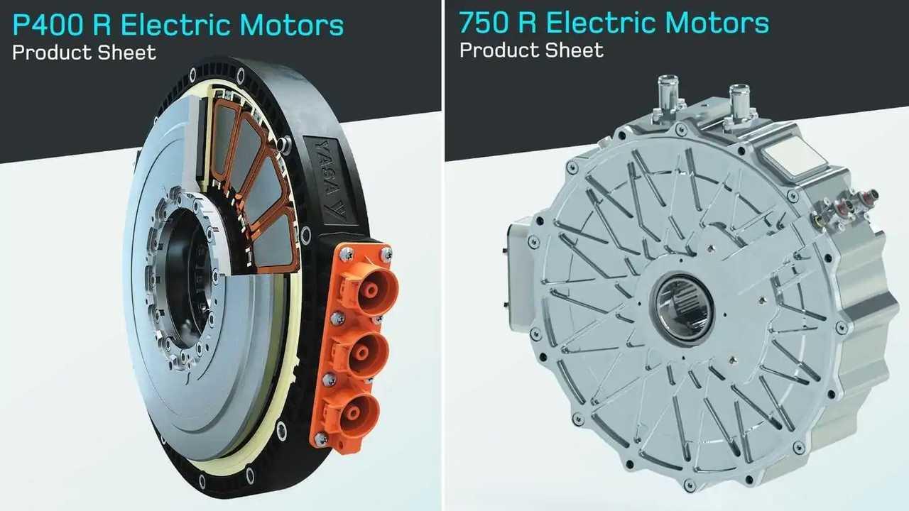 YASA axial-flux electric motors