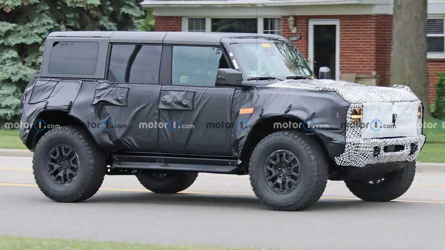 Ford Bronco Raptor Yeni Casus Fotoğraflar
