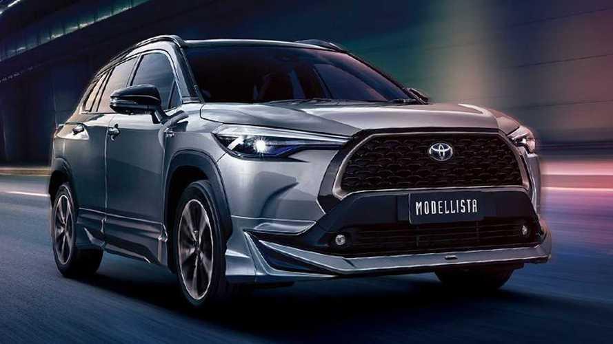 Toyota Corolla Cross Modellista surge com design mais esportivo