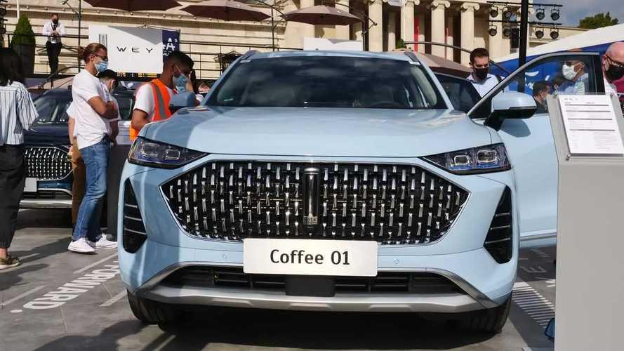 Wey Coffee 01 auf der IAA 2021