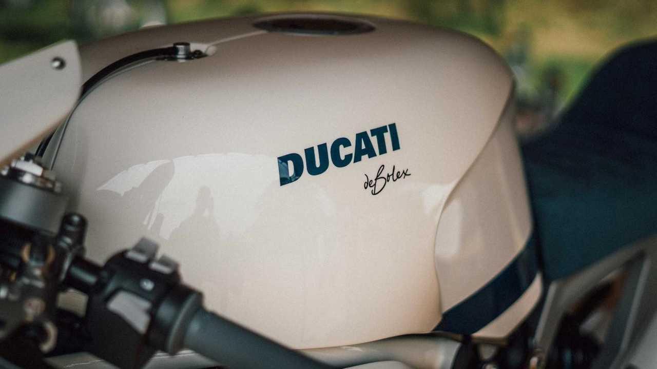 DeBolex Engineering Db25: Ducati Monster 1200 - Tank (White)