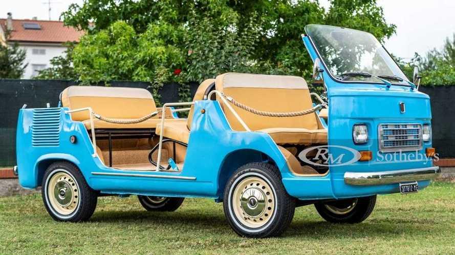 """Fiat 900T, la """"spiaggina"""" da sogno venduta da RM Sotheby's"""