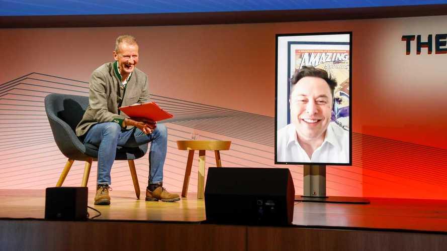 Elon Musk participa de reunião da Volkswagen com troca de elogios