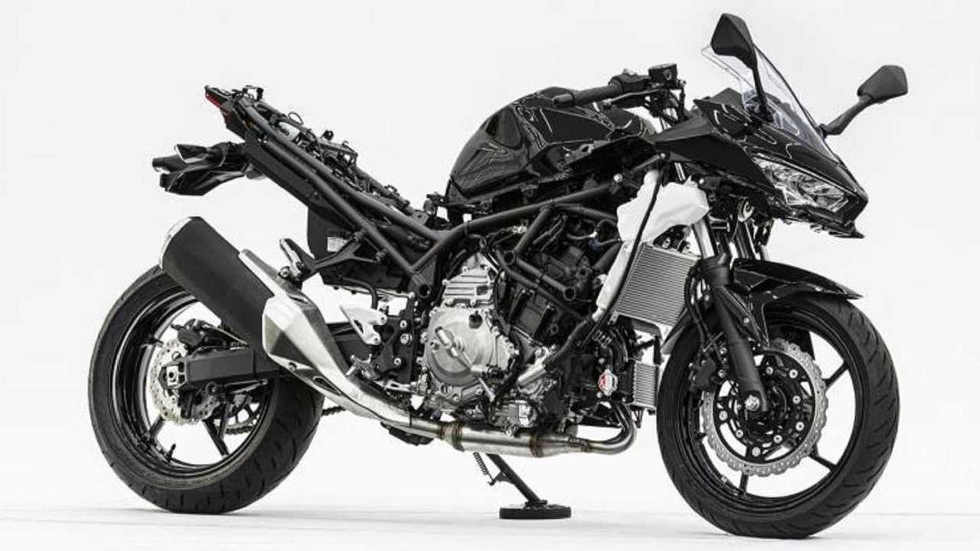 Kawasaki Lifts Cover On Its Gas-Electric Hybrid Prototype Bike
