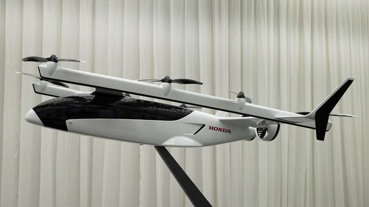 Concepto de avión híbrido Honda eVTOL