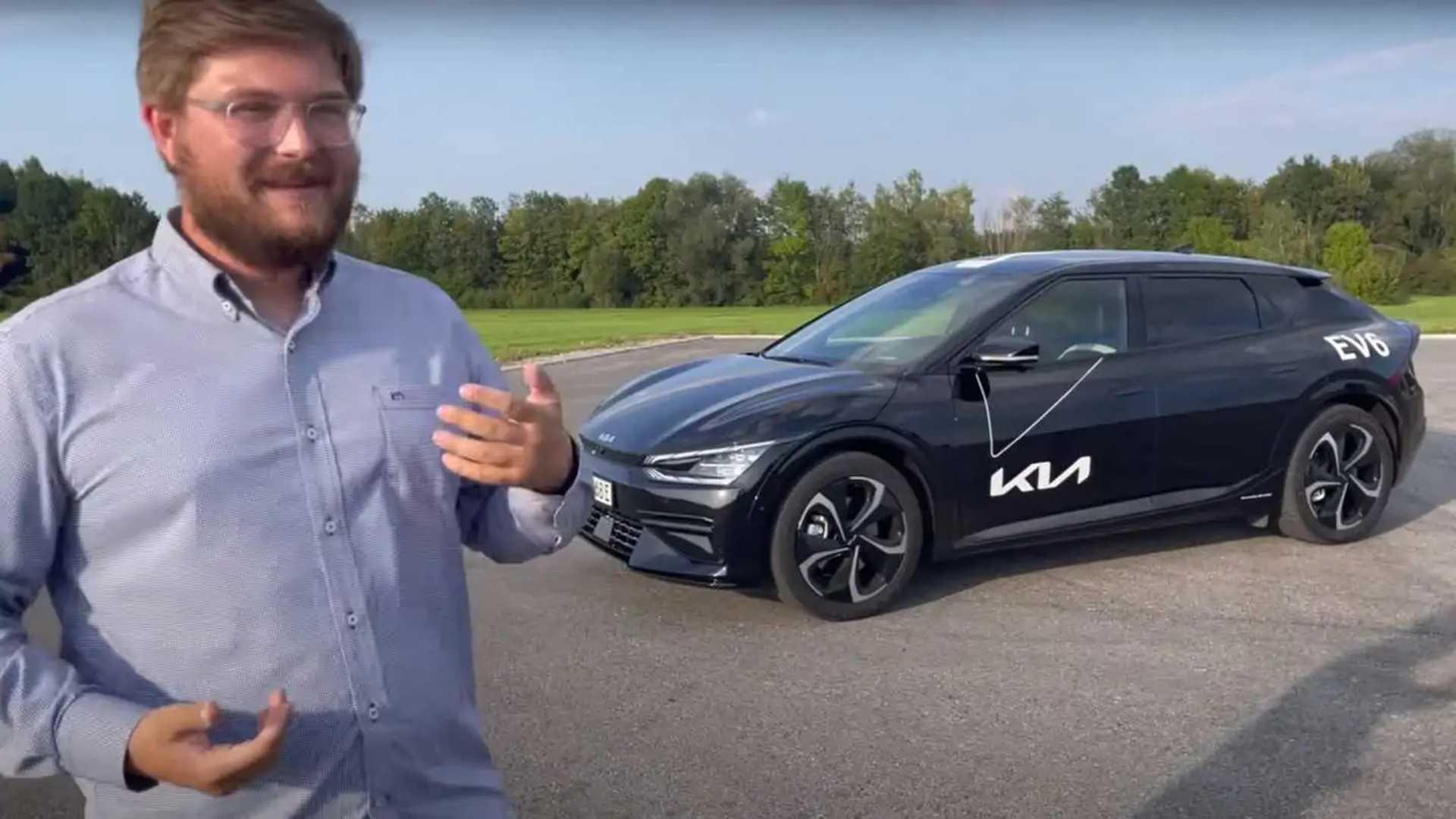 Kia EV6: Erster Test des neuen Elektro-Crossover