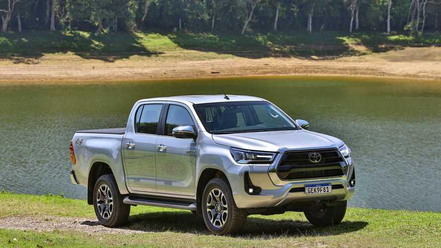Toyota Hilux SRX 2.8 2022