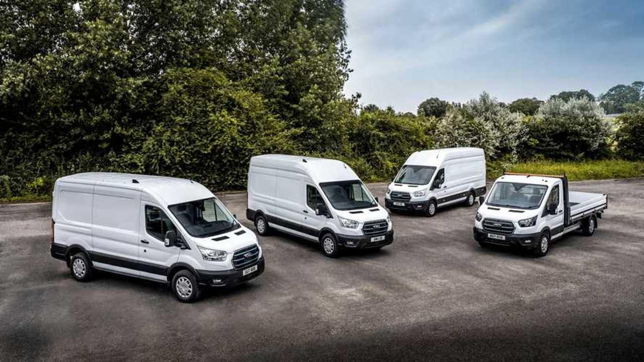 Ford E-Transit le versioni allestite per i test dei clienti
