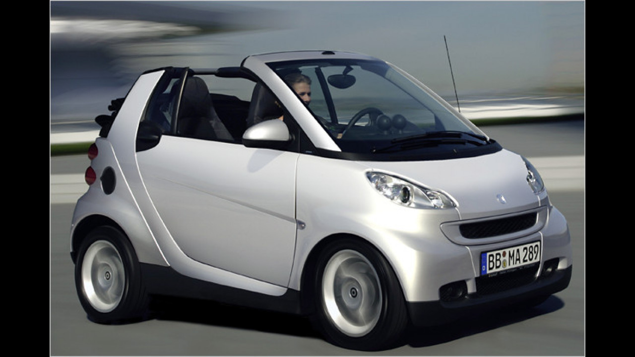 smart fortwo cabrio 0.8 cdi pure DPF