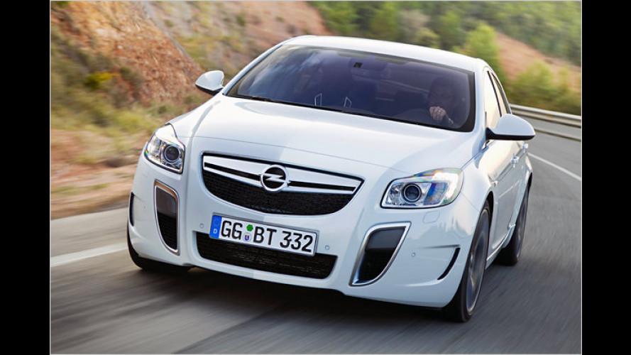 Opel Insignia OPC und ecoFlex sind da