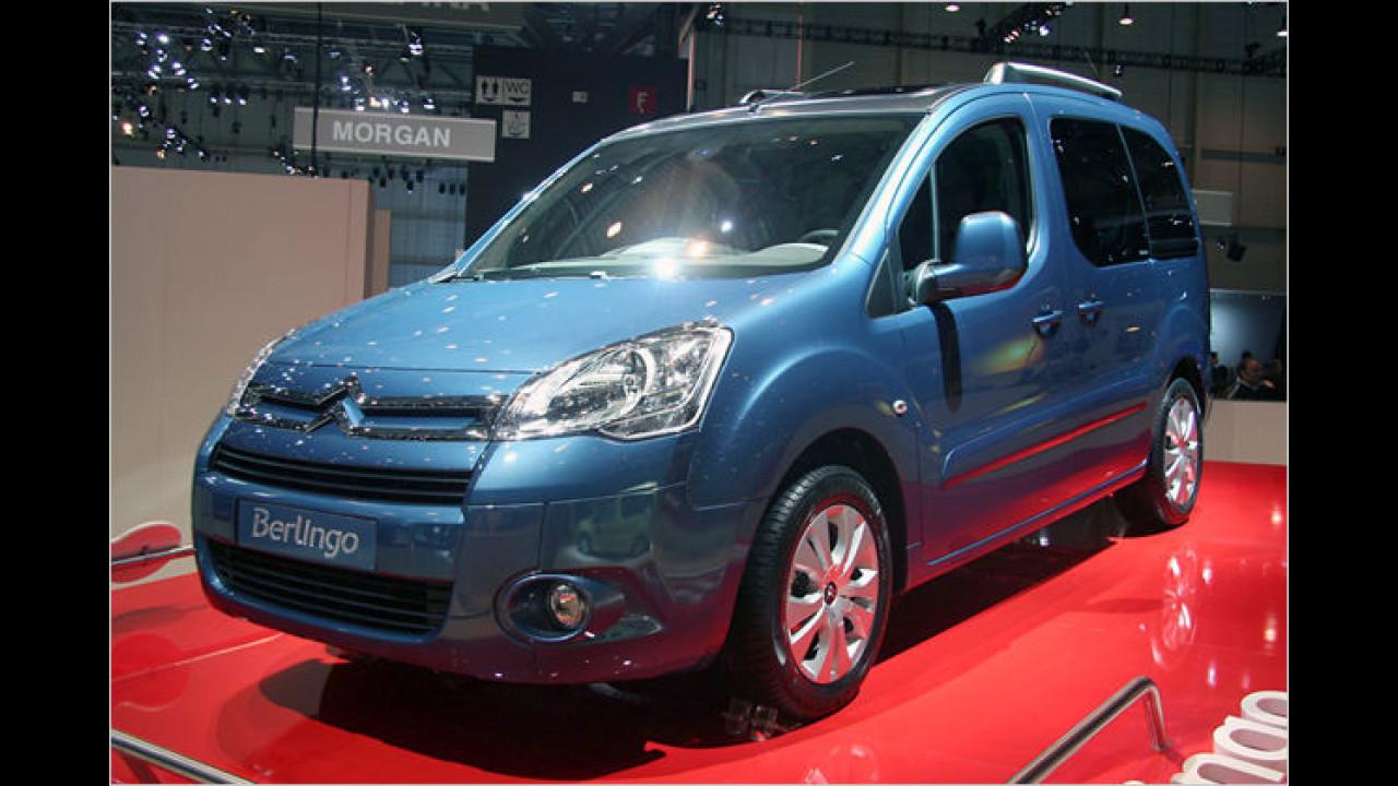 Citroën Berlingo: Der neue Berlingo ist baugleich mit dem Konzernbruder Peugeot Partner