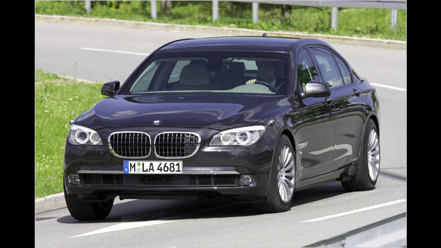 Sichere Siebener: BMW 7er High Security mit Panzerung