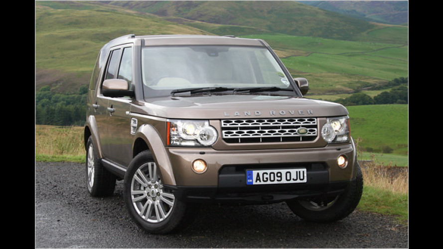 Aktuelle Kamera: Land Rover Discovery 4 im Test
