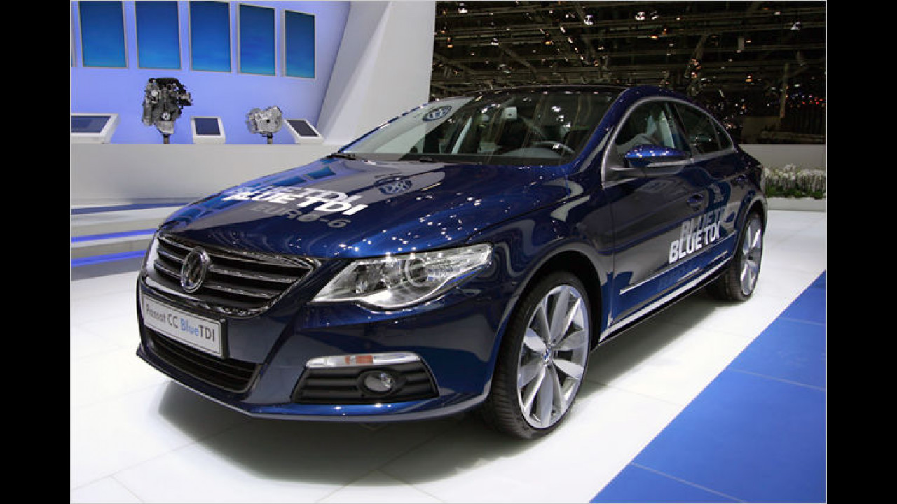 VW Passat CC BlueTDI