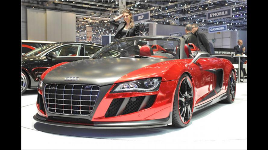 Abt R8 GT S: Offener Supersportler noch heißer und stärker
