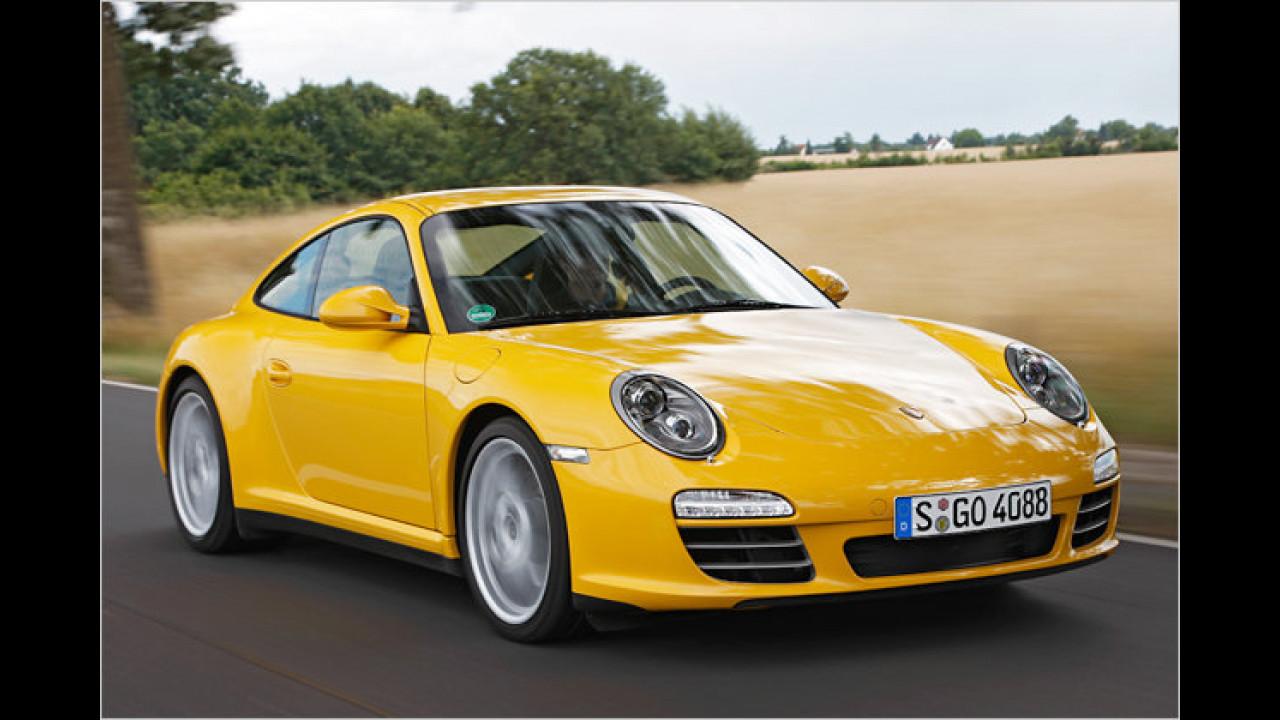 Laut GTÜ beispielhaft: Porsche 911