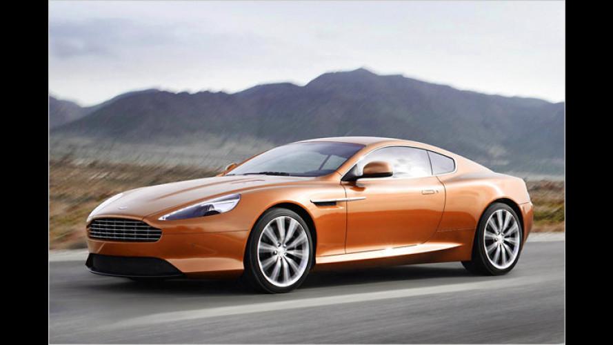Mit Sport-Modus: Der neue Aston Martin Virage
