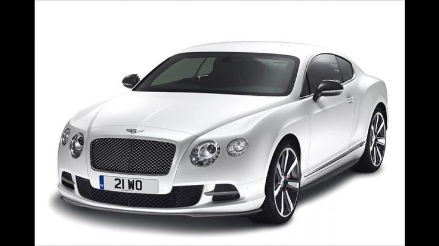 More drama, baby: Bentley schärft den Continental GT