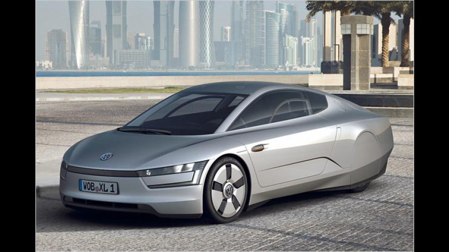 VW-Prototyp XL1: Neue Version des Ein-Liter-Autos