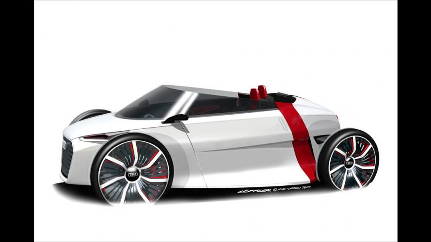 Audi urban concept auch als Spyder