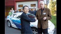 Mazda-Wasserstoffautos