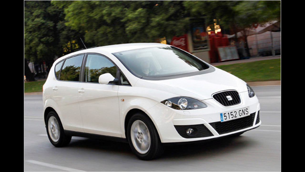 Kompakt-Vans: Seat Altea 1.6 TDI Ecomotive