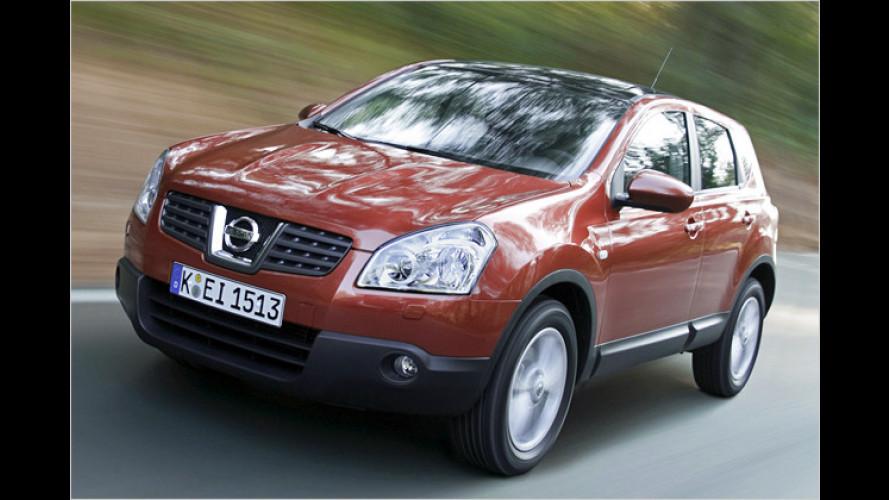 900 Euro sparen: Sondermodell Nissan Qashqai i-Way