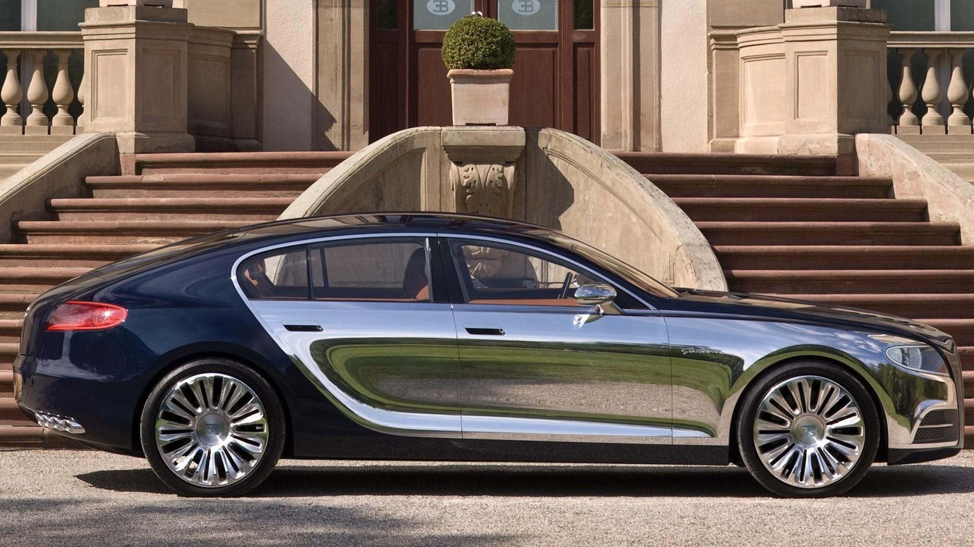 Prototipos olvidados: Bugatti 16C Galibier Concept (2009)