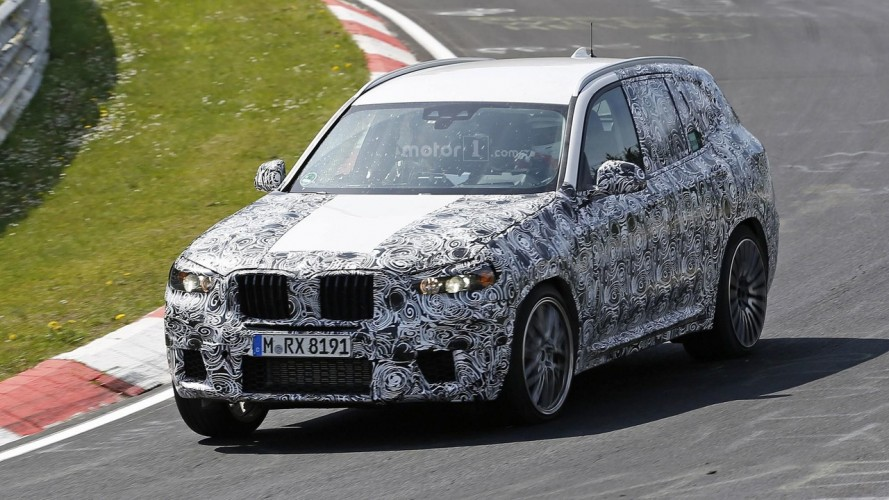 BMW, 2018 X3 M'i Nürburgring'de test ediyor