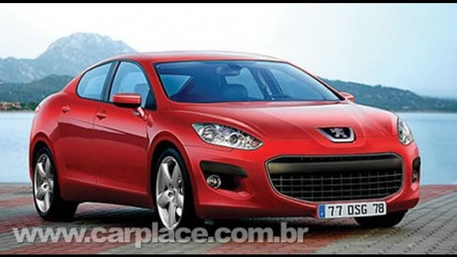 China terá sua versão do Novo Peugeot 408 produzida pela Dongfeng