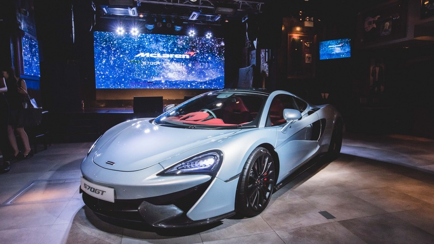 McLaren 570GT launched in Hong Kong