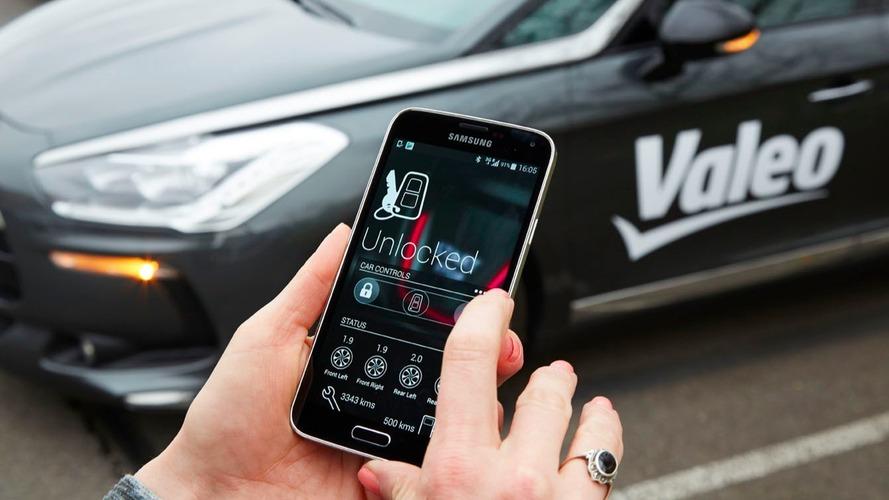 Valeo InBlue - Quand votre smartphone se fait clé de voiture