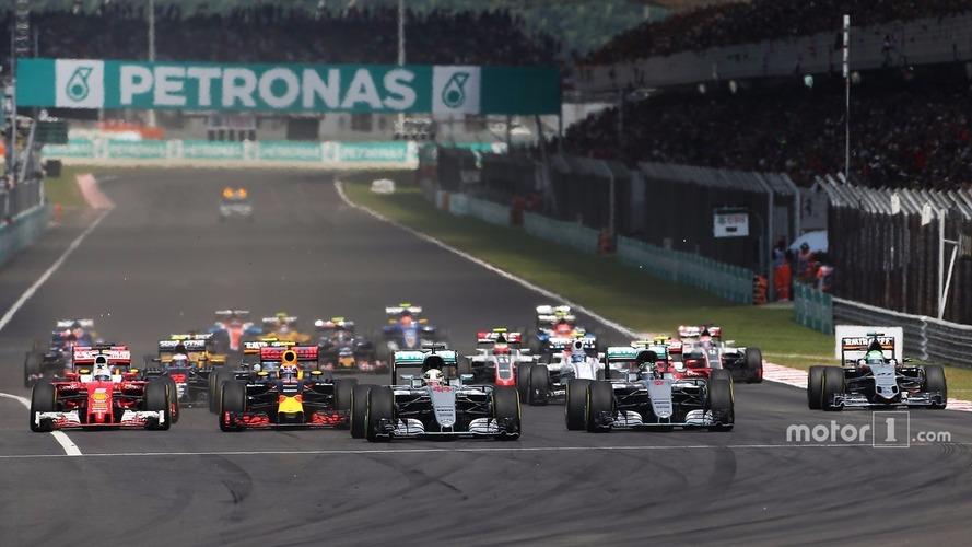 F1 Malaysian Grand Prix - Race Results