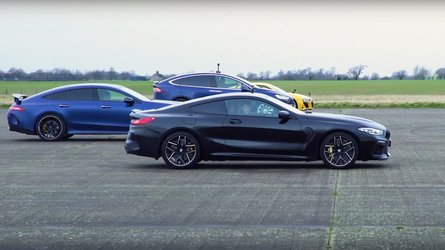Seeing this five-car drag race will make your day