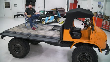 Restored Mercedes Unimog has engine swap and so much more