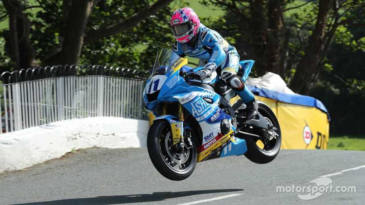 Lee Johnston at Isle of Man TT 2019