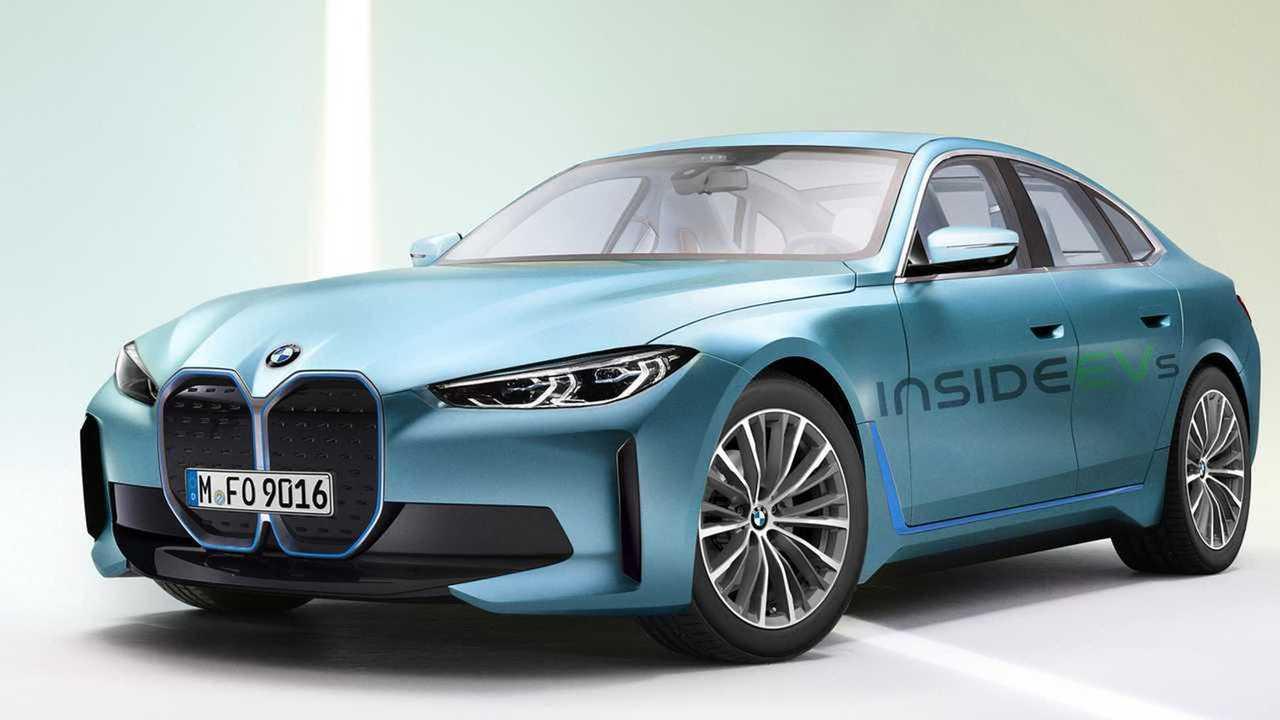 BMW i4 2021, render