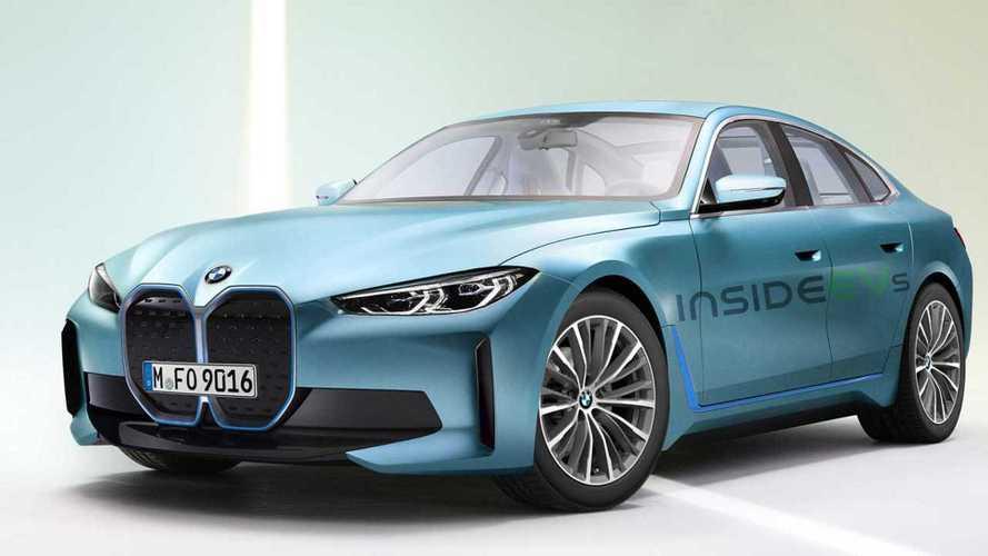 El futuro BMW i4 2021 será muy parecido a este render