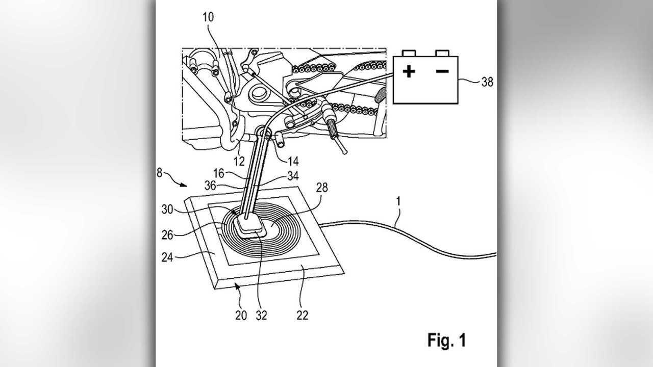 Piastre Di Tesla Funzionano moto elettriche, bmw: ricarica wireless attraverso il cavalletto