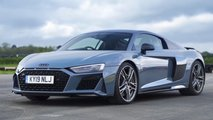 Nissan GT-R Nismo, Audi R8, BMW M850i, Porsche 911 Carrera 4S Drag Race