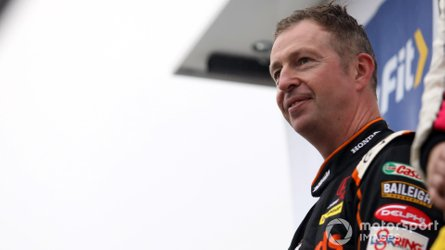 BTCC champ Neal sustains multiple fractures in bike incident