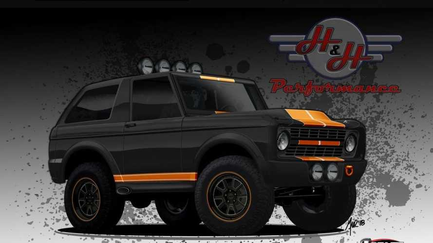 Roll Luxuriously In A 2019 Ford Bronco H&H Bronco Recreation