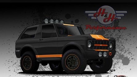 Roll luxuriously in a 2019 ford bronco h h bronco recreation
